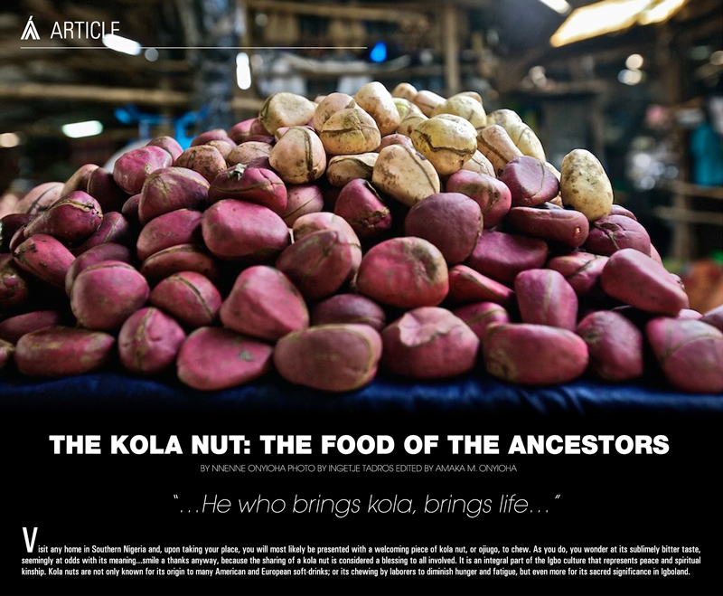 the kola nut 091913 - Traditional Ceremony